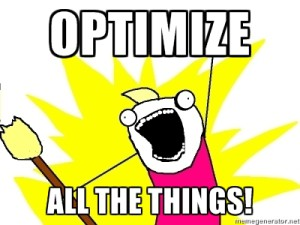 Optimize-All-The-Things