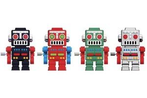 retro_walking_wind_up_robot_keychain_1